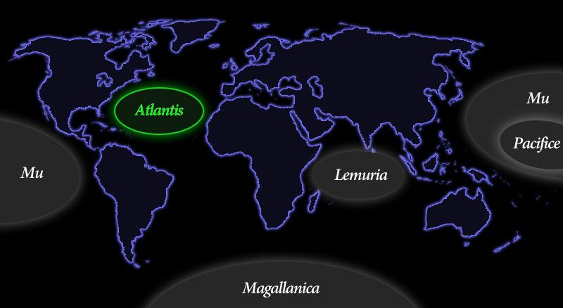 アトランティス大陸