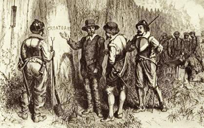 ロアノーク植民地集団失踪事件2